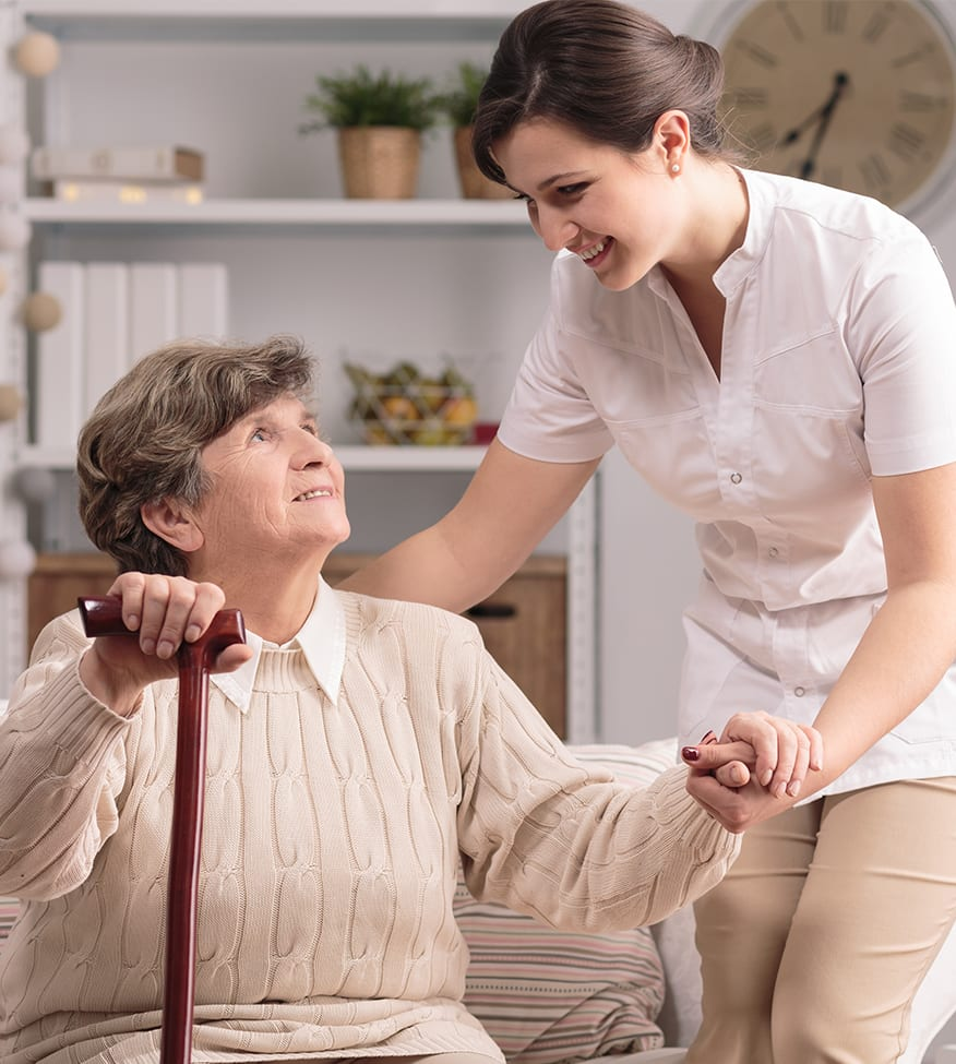 care and help for the elderly at home