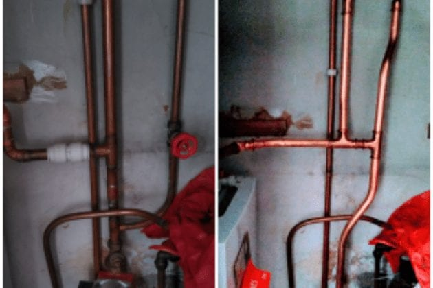 Pipework Corrections - Enfield